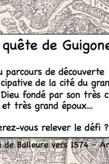 Visite et activité découverte de Beaune sous forme de chasse au trésor en autonomie : La Quête de Guigone... A faire en famille ou entre amis.