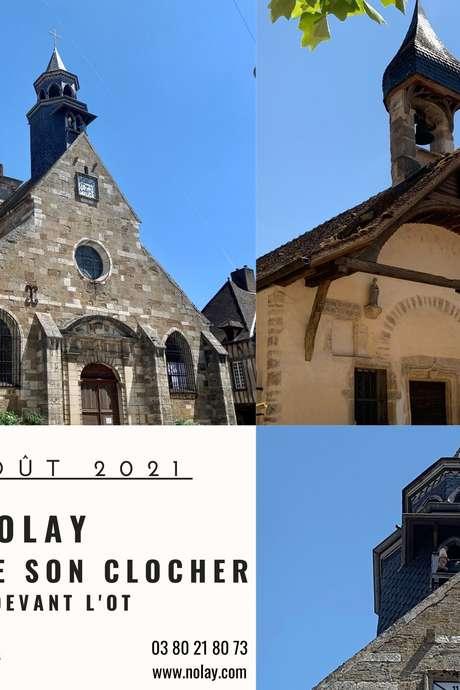 Visite estivale - Nolay autour de son clocher