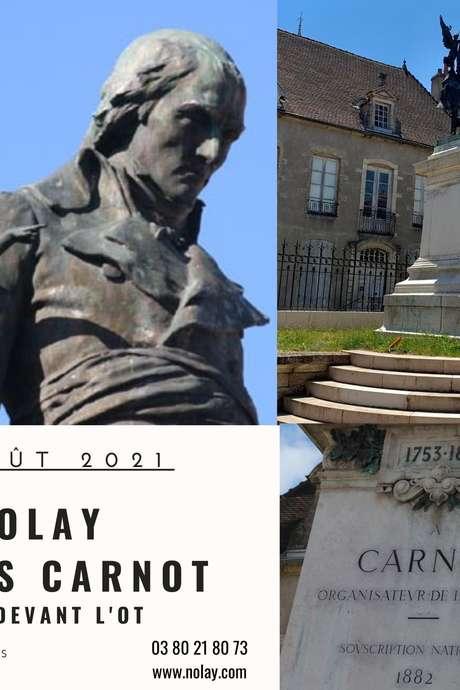 Visite estivale - Nolay et les Carnot
