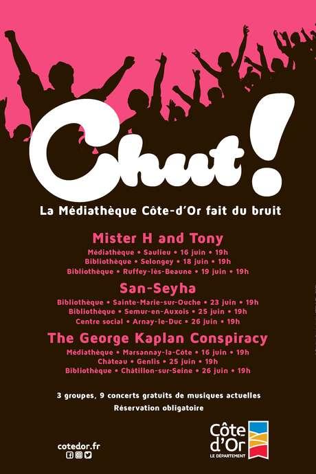 Festival Chut ! - Mister H and Tony en concert gratuit à Ruffey-lès-Beaune