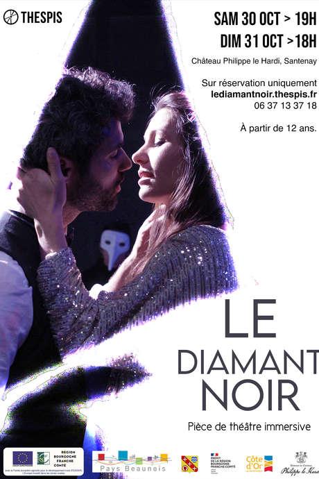 """""""Le Diamant Noir"""" - Théâtre immersif au château Philippe le Hardi  de Santenay"""