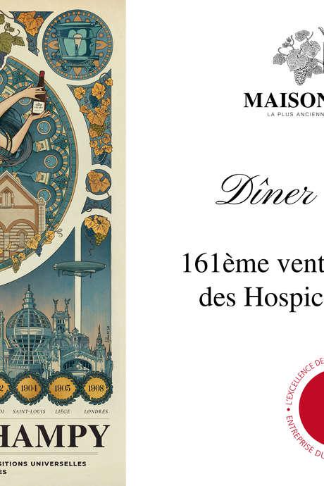 Maison Champy - Dîner de Gala vente des vins des Hospices de Beaune