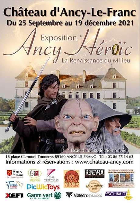 """""""Ancy Héroïc, la Renaissance du Milieu"""" - Château d'Ancy-le-Franc"""