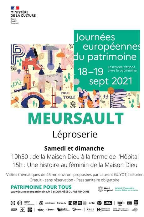 Journées du patrimoine léproserie de Meursault