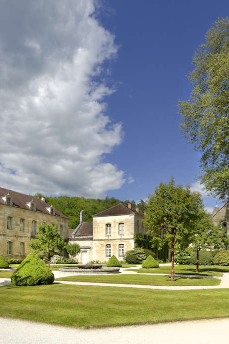 Rendez-vous aux jardins à l'abbaye de Fontenay