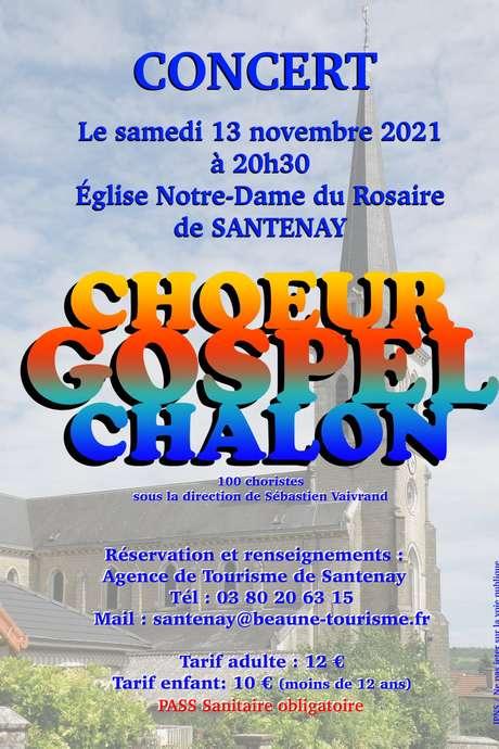 Concert Gospel à l'Eglise Notre Dame du Rosaire de Santenay