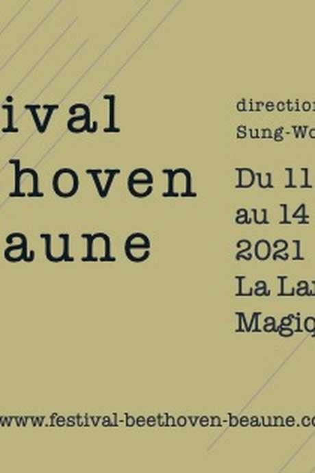 Festival Beethoven du 11 au 14 novembre 2021 à Beaune : Billet 3 concerts