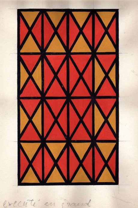 Exposition Alfred Latour à l'Abbaye de Fontenay