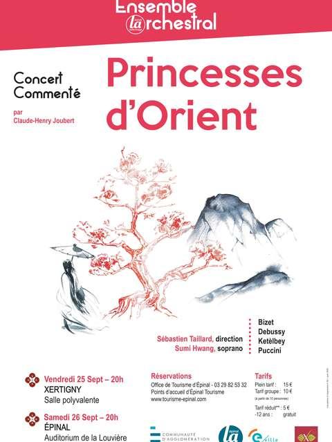 ENSEMBLE ORCHESTRAL : PRINCESSES D'ORIENT