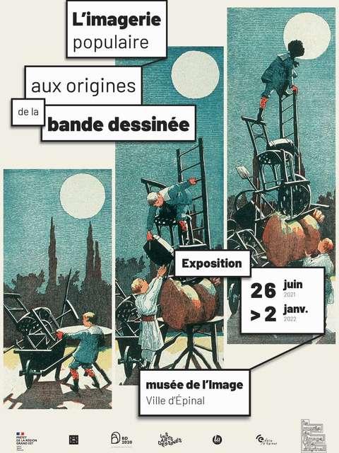 EXPOSITION: AUX ORIGINES DE LA BANDE DESSINÉE : L'IMAGERIE POPULAIRE