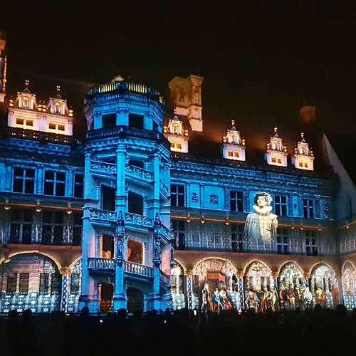 Son et lumière du Château Royal de Blois