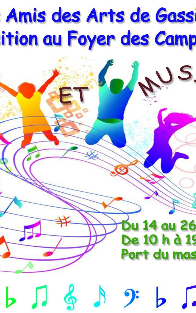 Les Amis des Arts de Gassin - Expo 2021 -