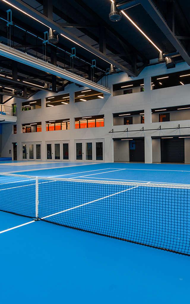 Court de tennis intérieur - Centre Sportif de Verbier