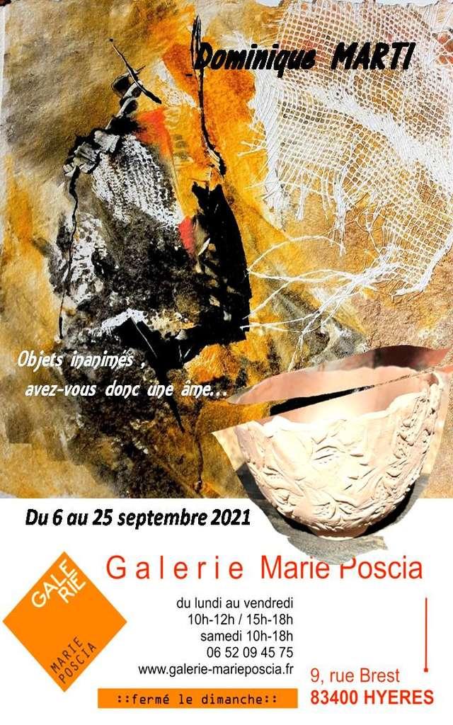 Exposition gravure, aquarelle, céramique