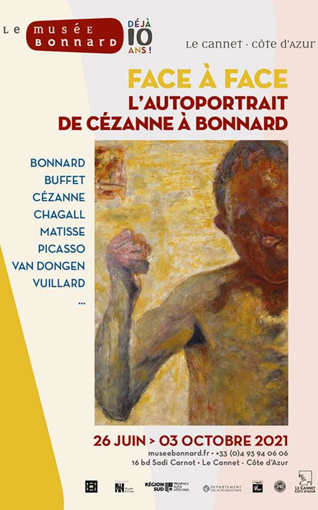 Exposition Face à Face, l'autoportrait de Cézanne à Bonnard