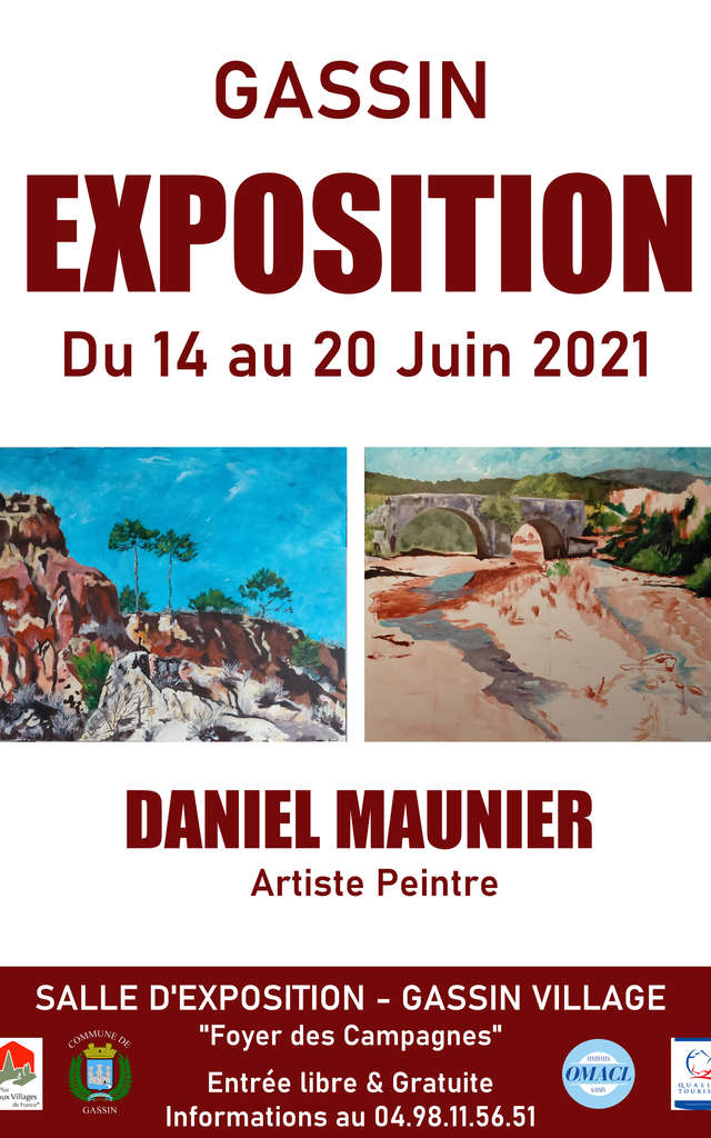 Exposition peinture 2021 Daniel Maunier