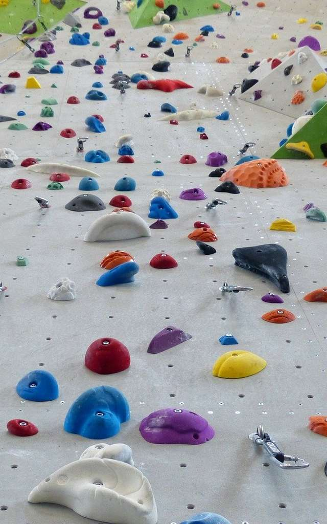 Vertic-Halle Climbing wall