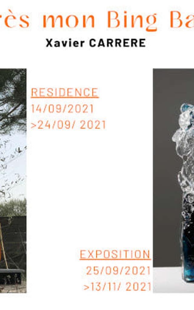 EXHIBITION « Après mon Bing Bang » de Xavier Carrère – Galerie du Verre Pierini