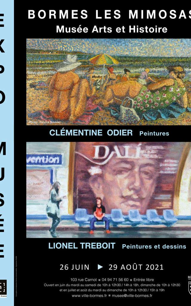 Exposition de Clémentine Odier et de Lionel Treboit