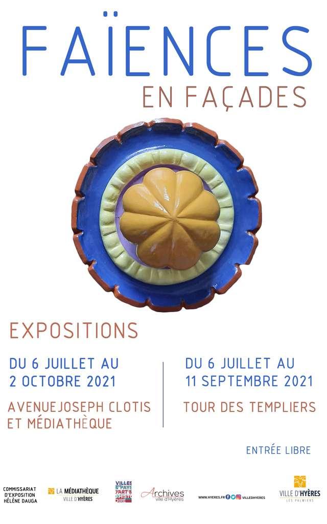 Exposition Faïences en façades