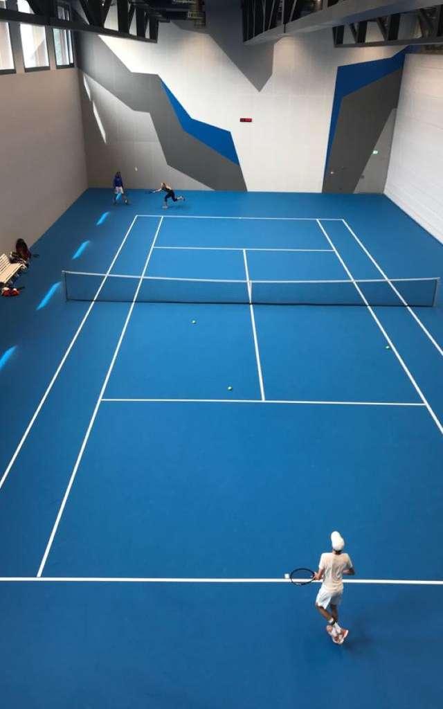 Cours de tennis avec l'Advanced Tennis Camp