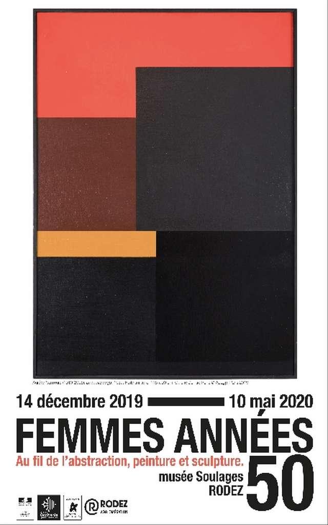 MUSEE SOULAGES : PROLONGATION DE L'EXPOSITION