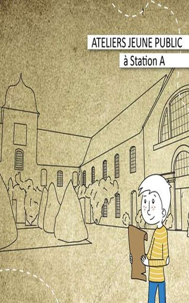 Atelier Dessine-moi la carte postale de Station A