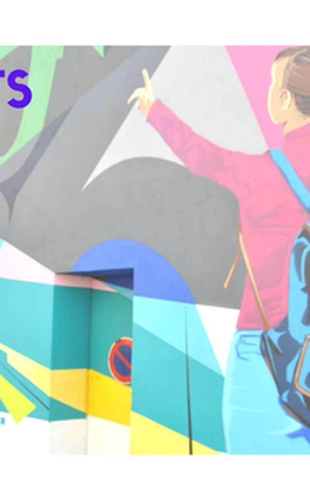 Piqu'Arts - Balade artistique de la rue à l'assiette