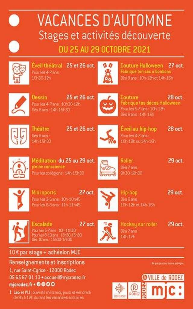 Stages et activités