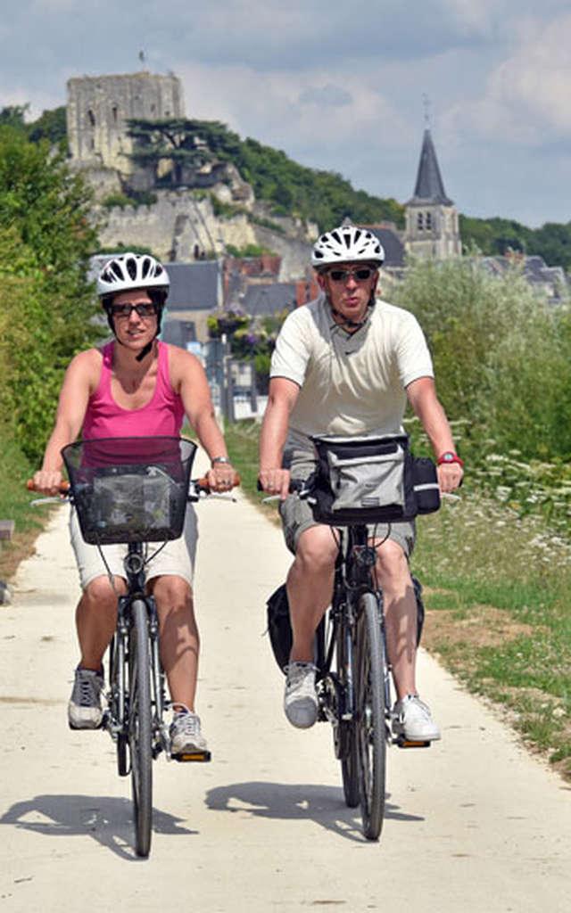 Le Cher en vélo... de Montrichard jusqu'à Chenonceau