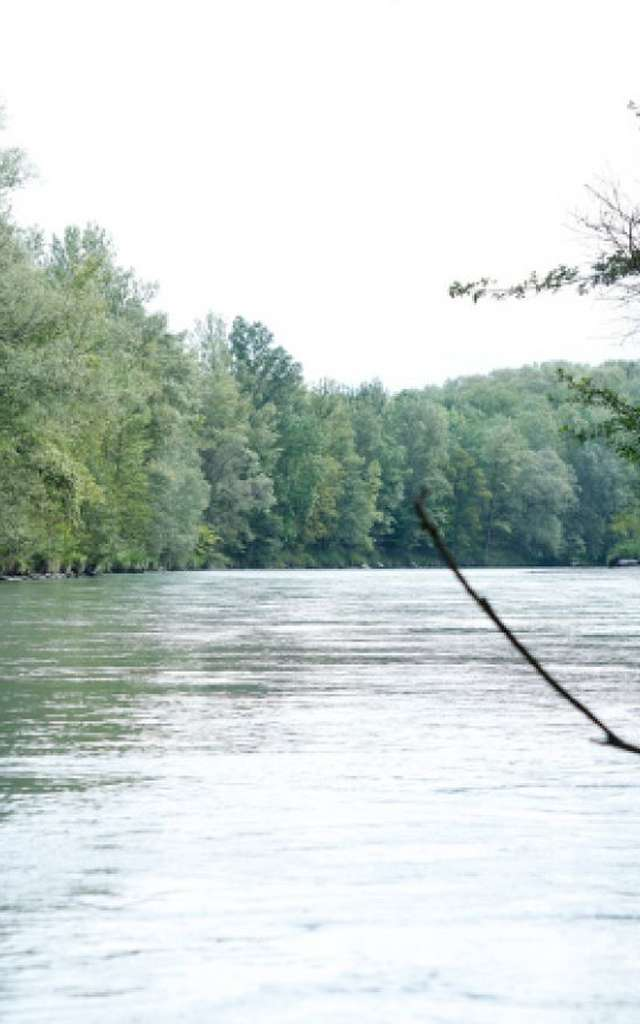 Les bords de l'Arve - De Gaillard à Arthaz en VTT