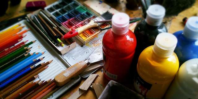 Do It Yourself - Watercolor Activity