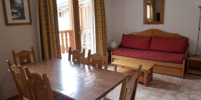 Résidence Les Essarts - Appartement 3 pièces cabine 6 personnes - ESS24