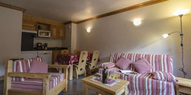Résidence Le Criterium - Appartement 3 pièces cabine 6 personnes - CRIA03