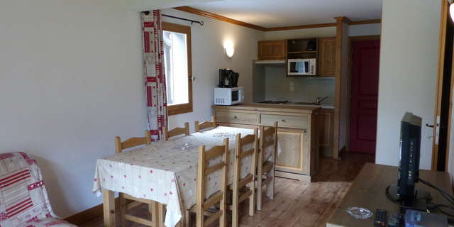 Résidence Le Clos Vanoise - Apartment 3 rooms cabine 8 people - CVE6