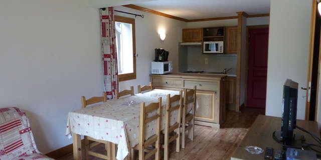 Résidence Le Clos Vanoise - Appartement 3 pièces cabine 8 personnes - CVE6