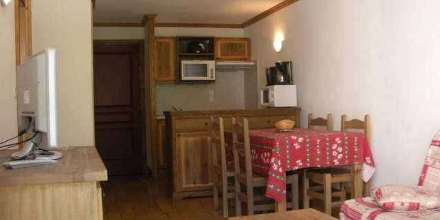 Résidence Le Clos Vanoise - Apartment 2 rooms cabine 6 people - CV4