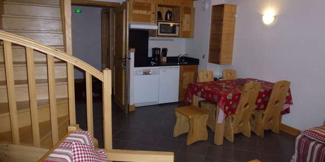 Résidence Le Criterium - Appartement 3 pièces cabine 6 personnes - CRIA05