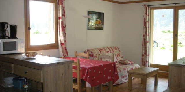 Résidence Le Clos Vanoise - Appartement 3 pièces cabine 6 personnes - CVE5