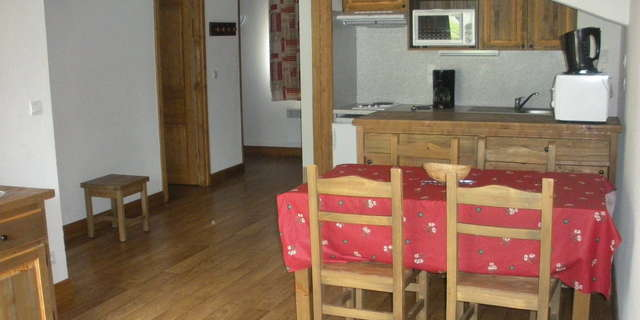 Résidence Le Clos Vanoise - Apartment 3 rooms cabine 6 people - CV16