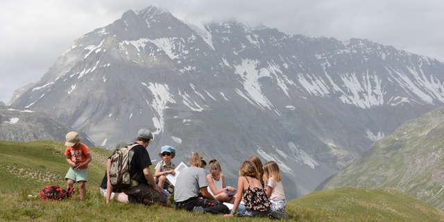 Jeu de piste - Atelier nature du Parc national de la Vanoise