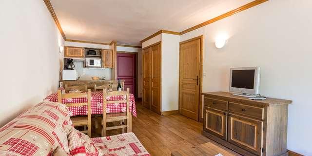 Résidence Le Clos Vanoise - Appartement 2 pièces cabine 6 personnes - CVE7