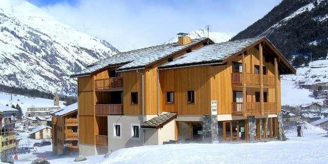Résidence Les Balcons de la Vanoise - Appartement 2 pièces coin montagne 6 personnes