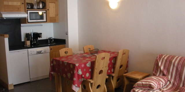 Résidence Le Criterium - Appartement 3 pièces cabine 6 personnes - CRIC07