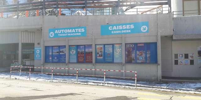 Caisses & Infopoint La Tzoumaz