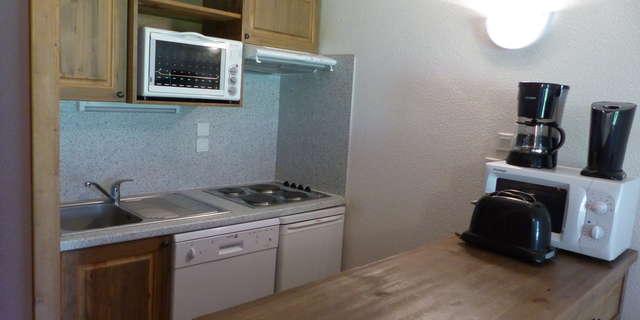 Résidence Le Clos Vanoise - Appartement 3 pièces cabine 7 personnes - CVE19