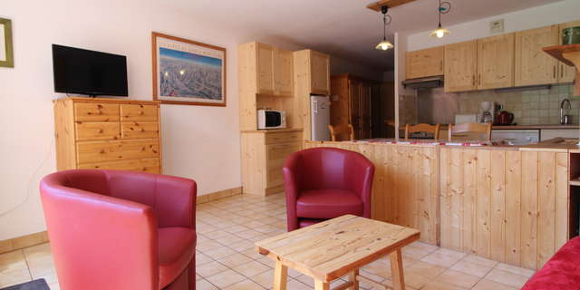 Pied De Pistes - 3 rooms 6 people *** - PPC001