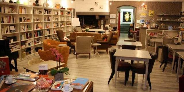 Librairie Tartinerie Salon de Thé Entrez libres