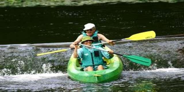 Canoë-kayak alpes mancelles aventures