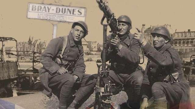 Bray-Dunes pendant l'Opération Dynamo